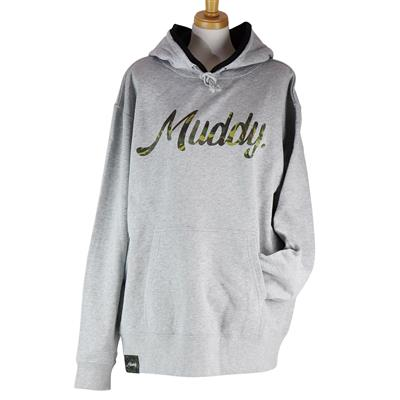 Muddy Camouflage 10.0oz HOODIE /GRAY /XL-size