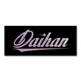 "STICKER ""Daihan"" NOIZY HOLOGRAM"